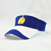 OEM Sports Cotton Sun Visor Cap with Embroidery Logo