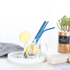 Stainless Steel Drinking Straws Reusable Metal Straws with Cleaning Brush