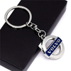 China Supplier High Quality Wholesale Custom Logo Key Chain, Round Shape Promotion Metal Key Chain