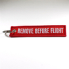 Customized Embroidery Logo Short Keychain Lanyard