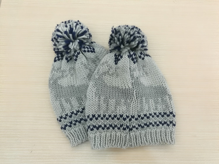 New Design Cotton Knitted Beanie Hat And Cap