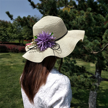 Bucket Hats Sun Floppy Straw Hat For Women
