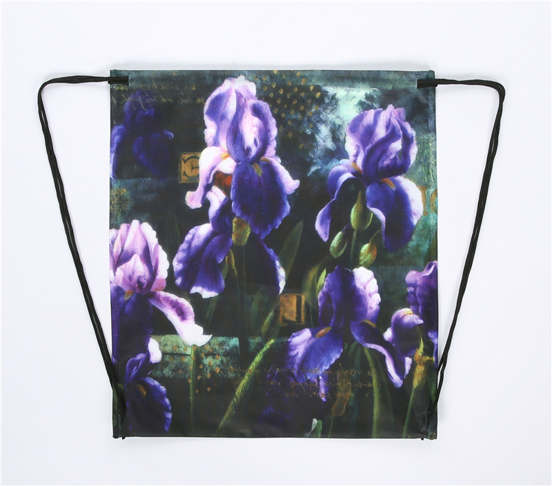 China Factory Custom Printed Pp Non Woven Drawstring Bags