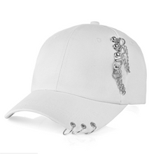 Fashionable Hat Outdoor Sports Iron- Hoop Pure Color Baseball Caps