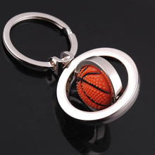 New Product Ideas 2019 Custom Logo Personalized Keychain Basketball Key Chain