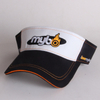 High Quality UV Protect Embroidered Short Golf Tennis Visor Cap